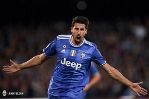 Khedira mengemas trigol saat Juve hancurkan Udinese