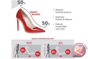 Teknologi Insolia buat sepatu hak tinggi lebih nyaman