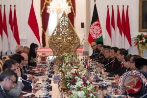 Jokowi gelar jamuan makan untuk presiden Afghanistan