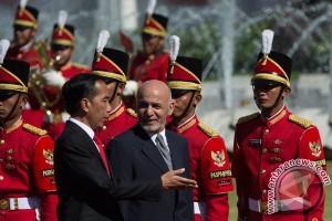 Jokowi gelar upacara kenegaraan sambut Presiden Afganistan