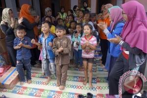 Trauma Healing Anak Pengungsi Ponorogo