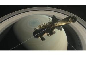 Cassini akan selami cincin Saturnus di akhir misi