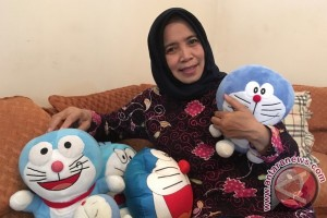 Nurhasanah, hampir seperempat abad menyulih suara Doraemon