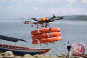 Drone amfibi pertama di dunia diproduksi di Shanghai