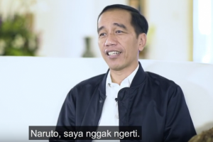 Presiden Jokowi tak tahu Naruto