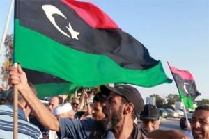 Pemrotes serbu gedung markas konstitusi Libya
