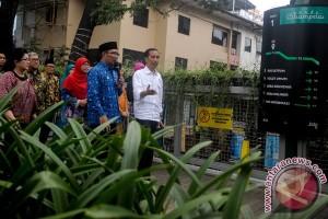 Presiden Jokowi blusukan ke BIP lihat produk asli Bandung
