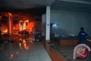 Pusat perguruan silat nasional di Bogor terbakar