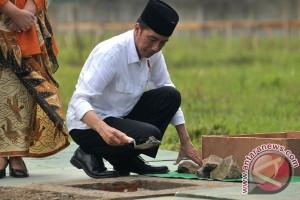 Presiden Jokowi bermalam di Tanah Bumbu