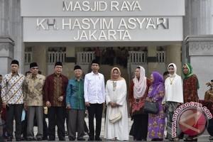 Presiden berharap Masjid Asy'ari jadi simbol Islam moderat