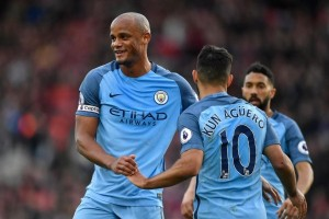 Manchester City gunduli Watford 5-0 untuk amankan posisi tiga