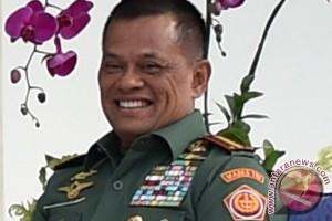 Panglima TNI baca puisi Denny JA di Rapimnas Golkar