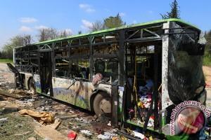 Hampir 70 anak tewas dalam serangan terhadap konvoi bus di Suriah