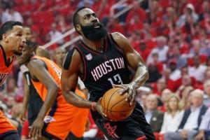 Harden pimpin Rockets atasi Thunder 118-87 di laga playoff pertama