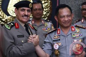 Kepolisian Indonesia-Arab Saudi jalin kerja sama penanggulangan terorisme