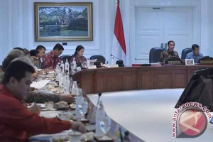 Jokowi bahas persiapan Asian Games XVIII