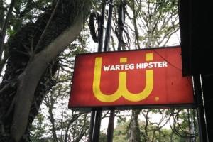 Mencicipi warteg kekinian, Warteg Hipster Bandung