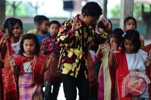 Pemulihan Trauma Anak Sinabung