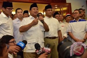 Sandiaga bertemu Prabowo, minta teruskan keberhasilan Ahok