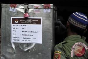 Polisi amankan kotak suara hingga pleno penghitungan