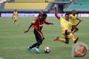 Bhayangkara FC Ungguli Perseru Serui