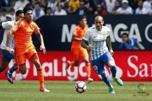 Malaga tundukkan Valencia 2-0