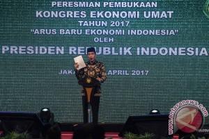 Presiden bicara pemerataan ekonomi di depan ulama