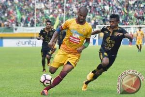 Penyerang Sriwijaya FC Moreira terancam absen lawan Persib