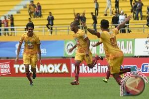 Sriwijaya FC kalahkan Borneo 1-0