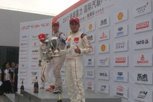 David Sitanala naik podium pada seri perdana F4 China
