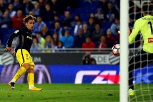 Atletico pecundangi Espanyol 1-0 berkat gol tunggal Griezmann