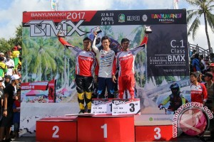 Juara Banyuwangi International BMX