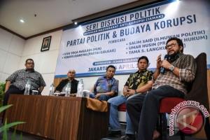 Partai Politik Dan Budaya Korupsi