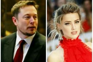 Mantan istri Johnny Depp pamer kemesraan dengan Elon Musk