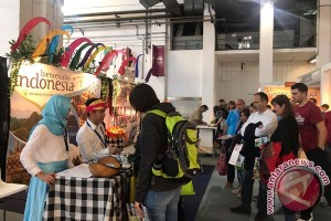 Wonderful Indonesia jadi perhatian pameran B-Travel di Barcelona