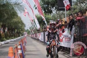 Gerry Setiawan tercepat di Motorsport Drag Bike Championship 2017