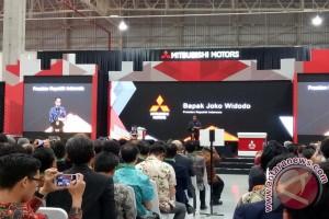 Pesan Presiden Jokowi saat resmikan pabrik Mitsubishi Cikarang