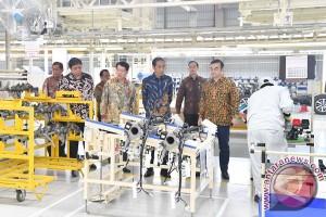 Presiden Resmikan Pabrik Mitsubishi
