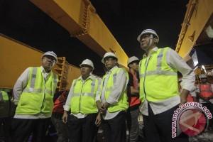 Menteri Basuki tinjau penyambungan terakhir Simpang Susun Semanggi