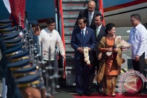 Presiden tiba di Filipina