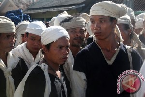 1.658 warga Badui lanjutkan Seba ke Gubernur