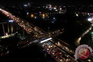Kepadatan Tol Jakarta-Cikampek