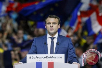 Di hadapan Putin, Macron blakblakan tuding Rusia intervensi Pilpres Prancis