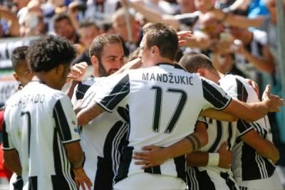 Klasemen Liga Italia, Juventus Juara 2016--2017