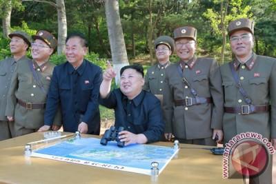 Pemimpin Korea Utara pimpin uji sistem senjata baru