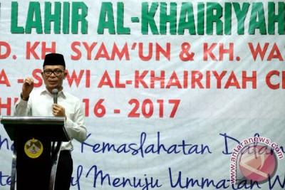 Menaker Hadiri Harlah Al-Khairiyah