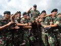 Kepulangan Satgas Pamtas Darat RI-PNG