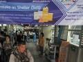 Sembako Di Halte Transjakarta