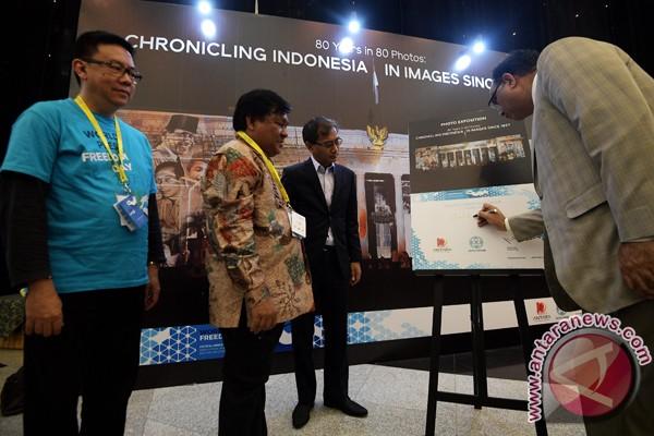 Antara Pamerkan Foto Catatan Sejarah Indonesia