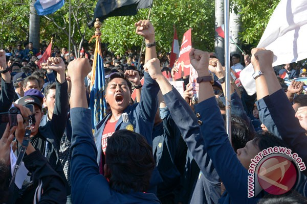 Ribuan mahasiswa Bali aksi damai untuk keutuhan NKRI